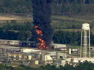 Fresh blaze breaks out at Texas chemical plant flooded by ...