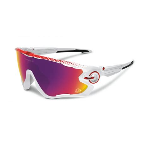 Oakley Prizm Jawbreaker Sunglasses Polished White OO9290-18