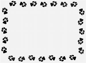 Paw Border Clipart - Clipart Suggest