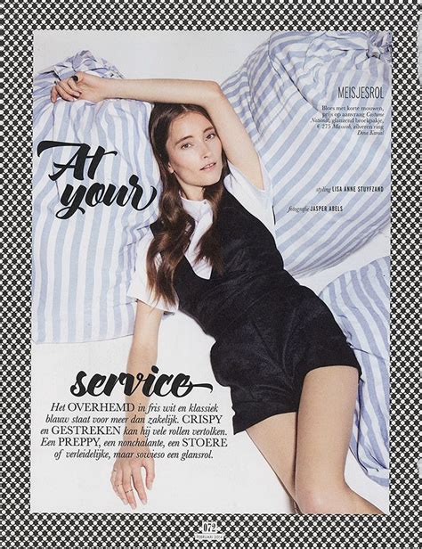 At Your Service (Elle Netherlands)