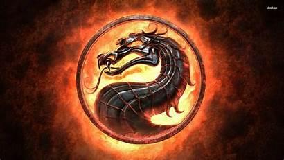 Dragon Mortal Kombat Wallpapersafari Symbol Recently Code
