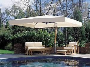 Grand Parasol Rectangulaire : le parasol rectangulaire en photos qui va vous inspirer ~ Teatrodelosmanantiales.com Idées de Décoration