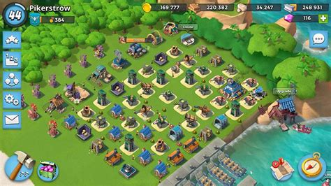 foto de Defense layout for HQ 16 and 17 Boom Beach All about
