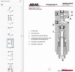 Terex Atlas Excavator Ab 1805  2005 Workshop Manual Pdf