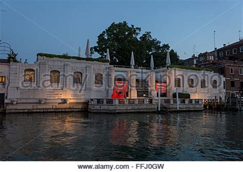 peggy guggenheim collection gallery on grand canal in venice stock photo royalty free image