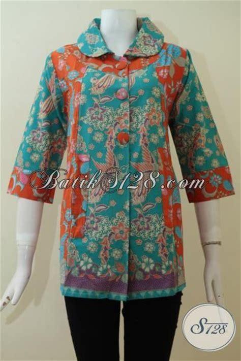 Model Blus Wanita Dewasa Gemuk 100 Gambar Baju Batik Eksklusif Wanita Dengan Model Baju