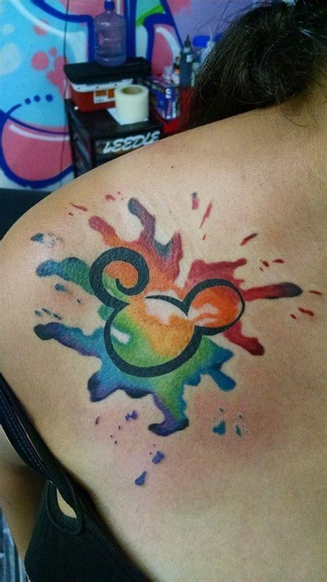 mickey mouse tattoos  preserve  walt disney magic
