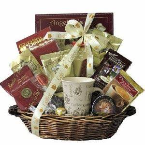 Coffee Holiday Gift Basket Corporate Coffee Gift Basket
