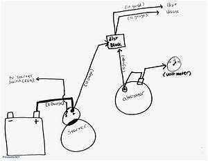 3 Wire Delco Alternator Wiring Diagram The 10