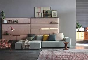 Wohnzimmer Grau Rosa : sofa in grau 50 wohnzimmer mit designer couch ~ Orissabook.com Haus und Dekorationen