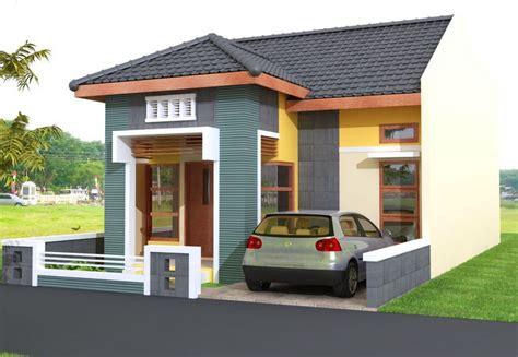 kumpulan desain rumah kecil  lahan sempit berkesan