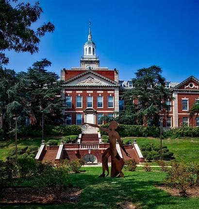 Howard University Campus College Education Delta Theta