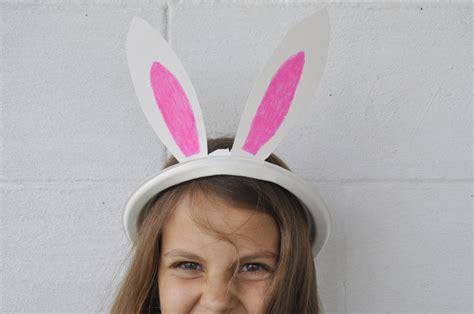 paper plate bunny ears plate   fun mum