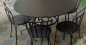 table ronde 117 cm table de jardin metal table jardin 6 With table jardin metal ronde pliante 5 table repas de jardin ronde bistro diam 117cm fermob
