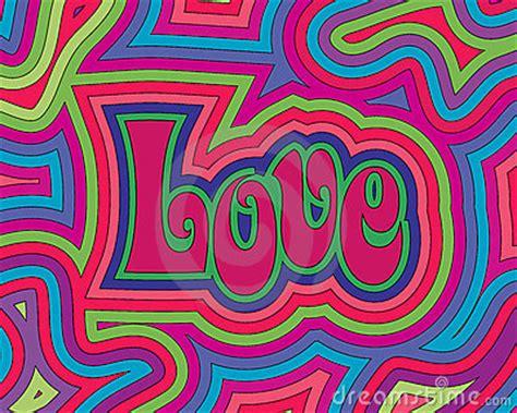 groovy love stock photo image