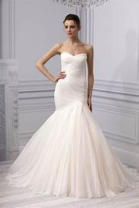 spring 2013 wedding dress monique lhuillier bridal gown With ruched mermaid wedding dress