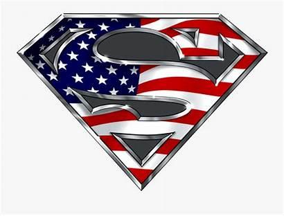 Superman Flag American Clipart Transparent Clipartkey
