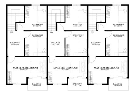 4 bedroom 3 5 bath house plans townhouse plans series php 2014010