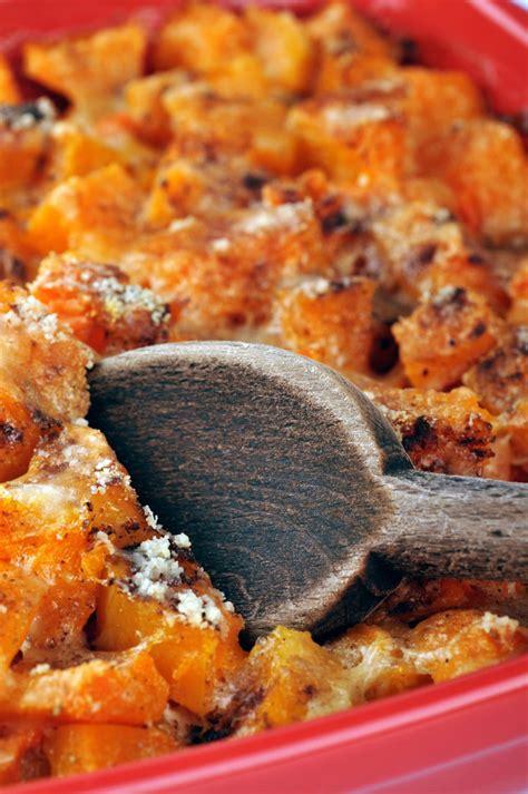 courge cuisiner recette gratin de courge aux oignons