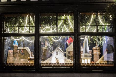 festive feels   christmas window displays