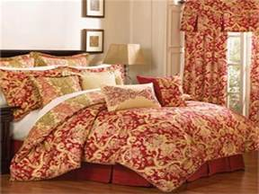 red and gold bedroom waverly bedding collection bedroom