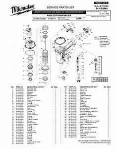 Milwaukee 7140-21 A88a Parts