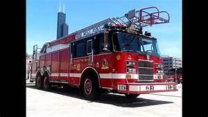 Pierce Fire Apparatus Compilation  Chicago Area