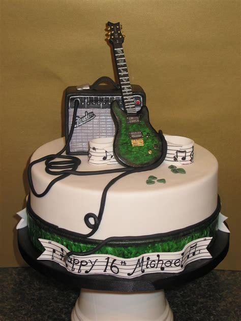 guitar  birthday cake zukuenftige projekte torten