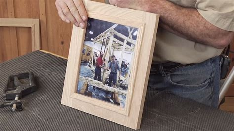 easy   wooden picture frame