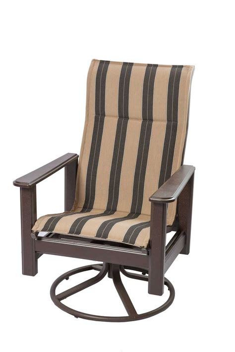 furniture lovely high back patio chairs high back patio