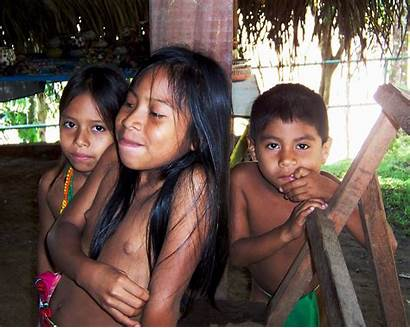 Embera Village Indian Flickr Panama Bathing Different