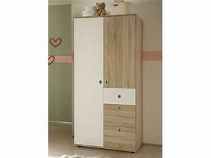 Kleiderschrank 2 Türig Weiß : kleiderschrank 2 t rig milu sonoma wei babyzimmer komplett sets milu ~ Eleganceandgraceweddings.com Haus und Dekorationen
