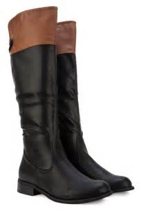 womens boots uk lewis womens black brown casual knee high boots size 3 8 uk ebay