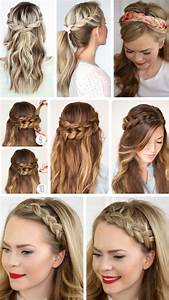 Quick Easy Formal Party Hairstyles For Long Hair DIY Ideas