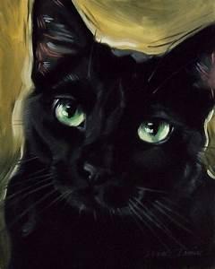 Black Cat Art | www.imgkid.com - The Image Kid Has It!