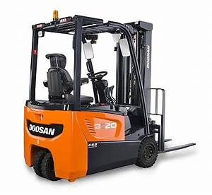 Doosan Begins Production Of Brand New Electric Forklift