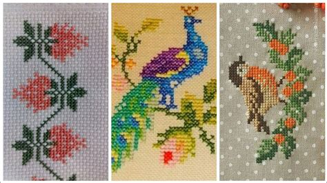 awesome cross stitch beautiful  patterns design