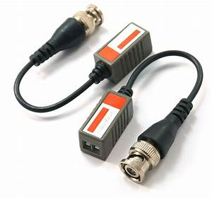 Cat5 To Bnc Video Balun With Lead
