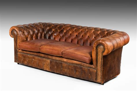 chesterfield settees uk leather chesterfield summers davis antiques interiors