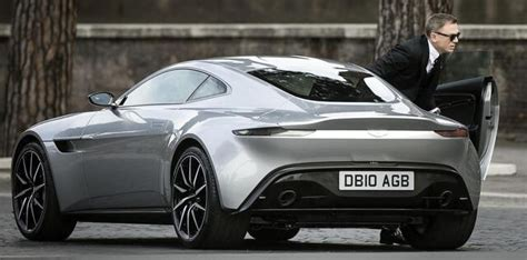 James Bond's 2016 Aston Martin Db10  Luxury Car News