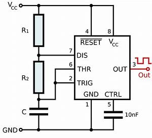 timer555 kalkulator czasu trwania impulsu wyjsciowego With frequency counter timer operation