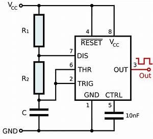 timer555 kalkulator czasu trwania impulsu wyjsciowego With adjustable industrial timer circuit electronic circuit projects