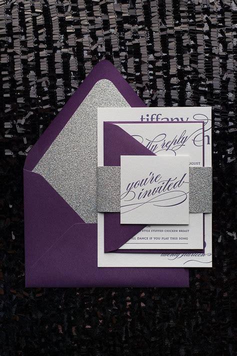 plum purple wedding color ideas deer pearl flowers
