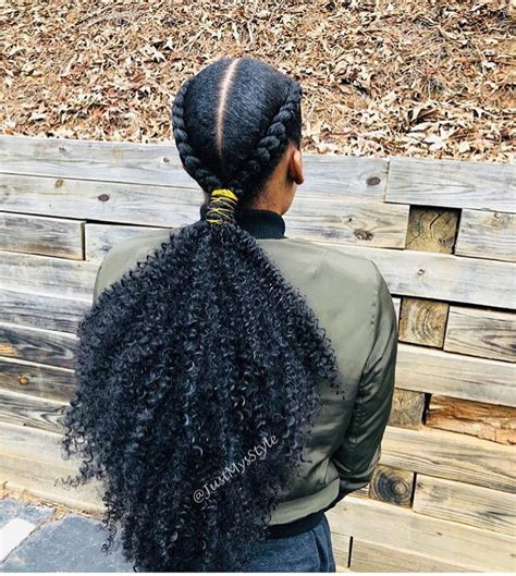 This Braided Ponytail Is Gorgeous By Atlanta Stylist