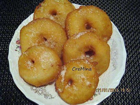 recette de beignets aux pommes par cremina