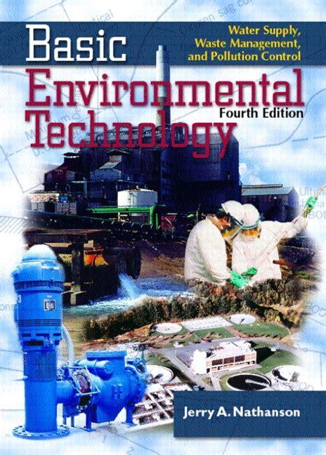 Nathanson, Basic Environmental Technology Water Supply