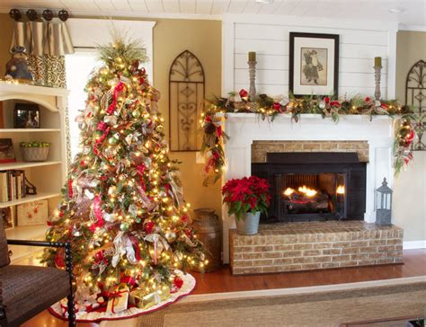 Christmas Decorating  Traditional  Living Room Other