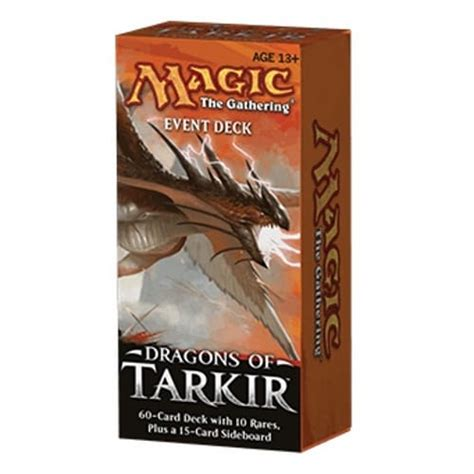 Magic The Gathering Deck Size by Dragons Of Tarkir Event Deck Magic The Gathering From