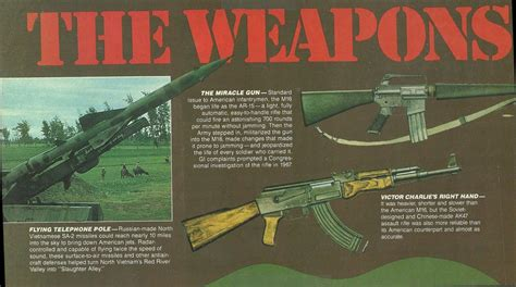 Weapons Used During Vietnam War #2