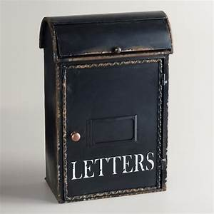 Letter box holder world market for Letter box holder